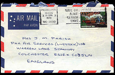 Australia 1979 Commercial Airmail Cover To UK #C36713