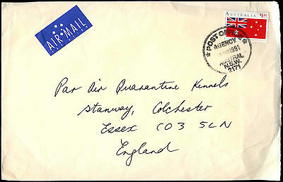 Australia 1991 Commercial Airmail Cover To UK #C36721