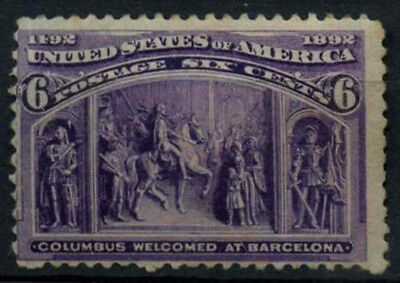 USA 1893 SG#240, 6c Columbian Exposition MH #D32405
