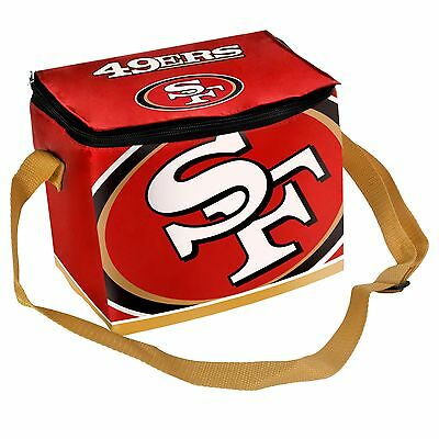 San Francisco 49ers Insulated soft side Lunch Bag Cooler New - BIg Logo