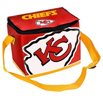 Kansas City Chiefs Insulated soft side Lunch Bag Cooler New - BIg Logo