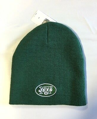NEW York Jets Knit Beanie Winter Hat Toque Skull Cap NEW Green