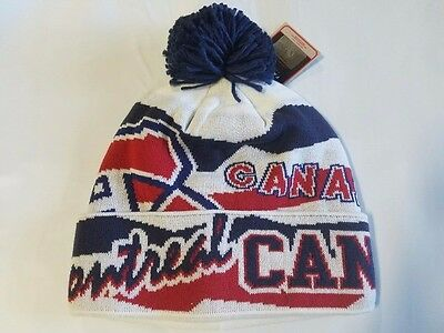 Montreal Canadiens Knit Beanie Toque Winter Hat Skull Cap - NHL New Cuffed
