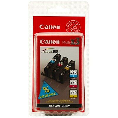 Canon CLI-526 (Colour) Ink Cartridge with Security