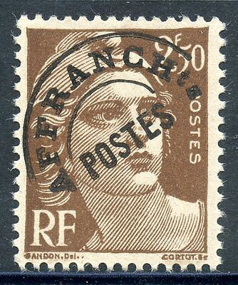 Stamp / Timbre France Preoblitere Type Gandon N° 95 ** Neuf Sans Charniere