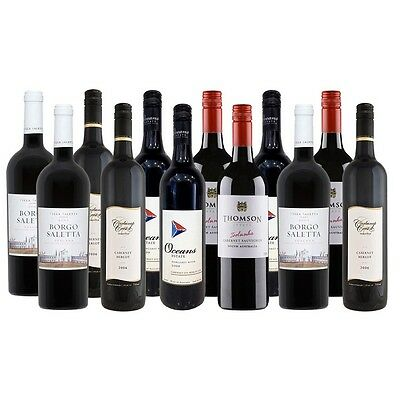 Premium Cabernet Blends Showcase  ~ High Points & Medals (12 x 750mL)