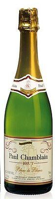 Paul Chamblain Blanc de Blancs Brut NV (6 x 750mL) Burgundy, France.