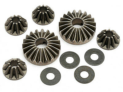 Hpi Racing Trophy Truggy Flux 101142 Hard Differential Gear Set - Genuine Part!