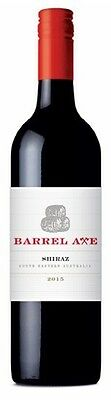 Barrel Axe Shiraz 2015 (12 x 750mL), SE AUS.