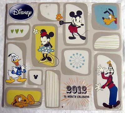 DISNEY Characters ~ 2012 Calendar NEW & SEALED