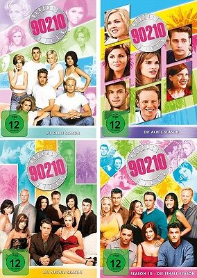 26 DVDs * BEVERLY HILLS 90210 - STAFFEL / SEASON 7 - 10 IM SET # NEU OVP +
