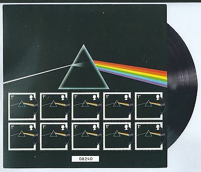 Great Britain 2016 Pink Floyd Dark Side Of The Moon Limited Edition Sheetlet