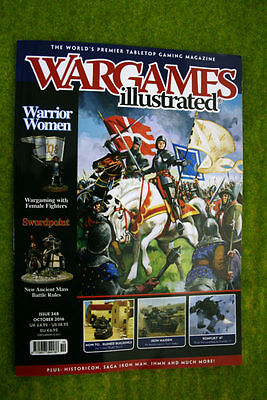 WARGAMES ILLUSTRATED ISSUE 348 October 2016 MAGAZINE