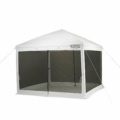 Wenzel 33047 Smartshade Screen House, Portable and Stable Temporary Shade Tent