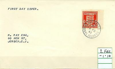 II.WK - Guernsey 2 FDC