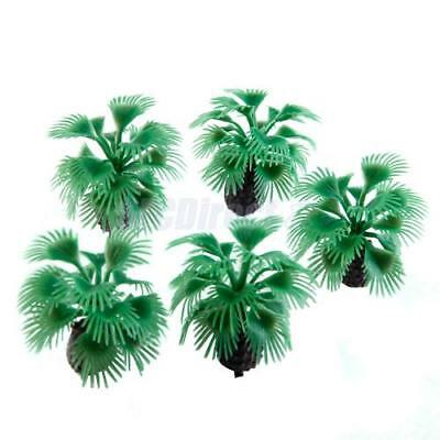 10pcs Model Bottle palm Tree Layout Train Scenery Scenery Scale Z 1:200 5.5cm