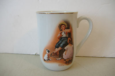 ~The Music Maker~Norman Rockwell Mug~H.m.i. 1981~