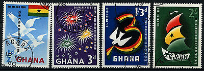 Ghana 1960 SG#238-241 Independence Cto Used Set #D34549