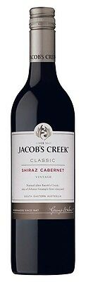 Jacob's Creek `Classic` Shiraz Cabernet 2014 (12 x 750mL), SE AUS.