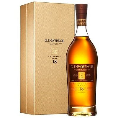 Glenmorangie `18 YO` Single Malt Scotch Whisky (6 x 700mL giftboxed)