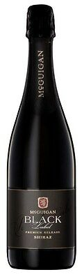 McGuigan `Black Label ` Sparkling Shiraz NV (6 x 750mL), SE AUS.