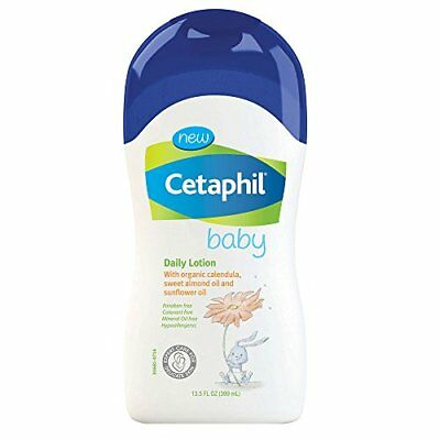 Cetaphil Baby Daily Lotion with Organic Calendula, Sweet Almond Oil and