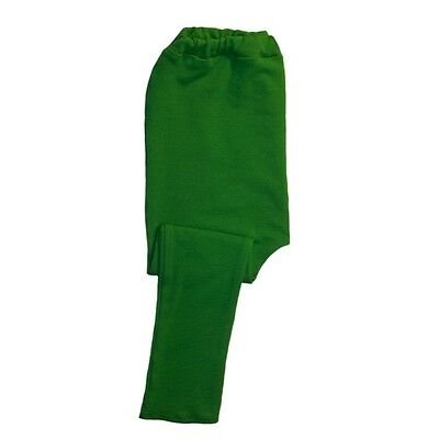 Kelly Green Unisex Baby Leggings - 6 Preemie Newborn and Toddler Pants Sizes