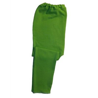 Lime Green Unisex Baby Leggings - 6 Preemie Newborn and Toddler Pants Sizes