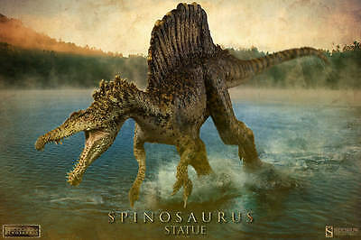 """Dinosaur Spinosaurus Limited 32"""" statue Sideshow Collectibles"""