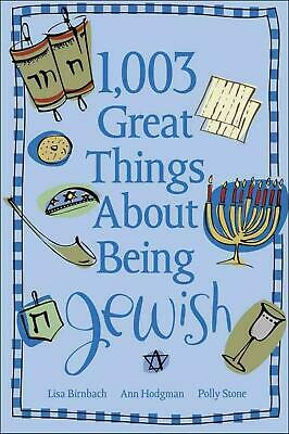 1,003 Great Things about Being Jewish by Lisa Birnbach (English) Paperback Book