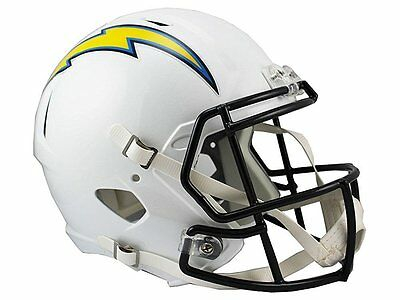 NFL Football Full Size Speed Helm Helmet LOS ANGELES CHARGERS Riddell