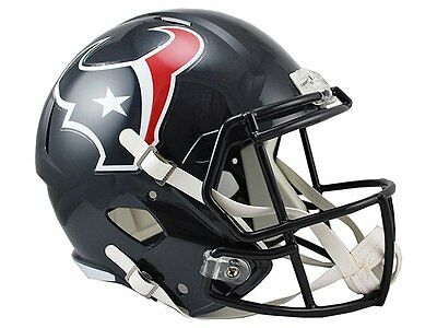 NFL Football Full Size Speed Helm Helmet HOUSTON TEXANS Riddell neu OVP