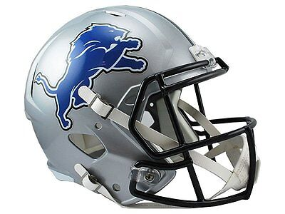 NFL Football Full Size Speed Helm Helmet DETROIT LIONS Riddell neu OVP