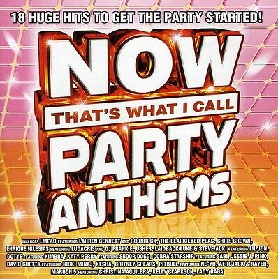 Various Artists, Now - Now That's What I Call Party Anthems / Various [New CD]