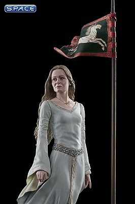 Lady Eowyn of Rohan Statue Lord of the Rings Herr der Ringe Tolkien Weta NEU