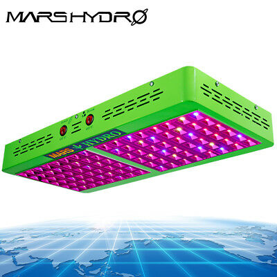 Mars Reflector 96 LED Grow Light Panel Lamp Hydroponics Indoor Medical Planting