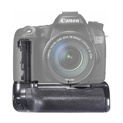 Neewer BG-E14 Replacement Battery Grip Holder For Canon EOS 70D Camera DSLR