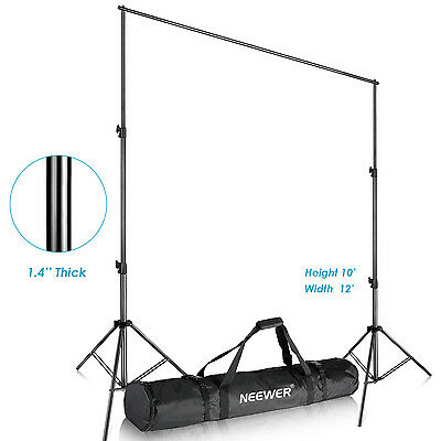 Neewer 3M x 3.6M Photography Studio Adjustable Backdrop Support System Stand