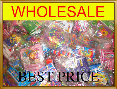 4608 Assorted Silly Shaped Rubber Bands Bandz 384 Packs