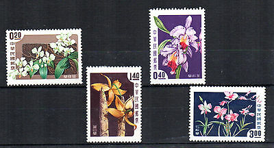 1958 TAIWAN Orchids set SG280/3 mounted mint