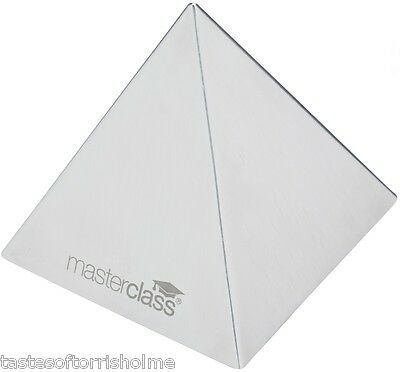 Master Class Stainless Steel Food Pyramid Shape Mould