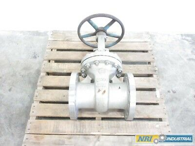 Newco W430R 6 In 300 Stainless Flanged Wedge Gate Valve