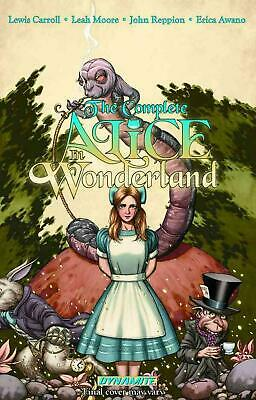 The Complete Alice in Wonderland by Leah Moore (English) Hardcover Book
