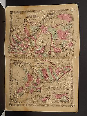 Johnson's Maps, 1864, Canada O4#01
