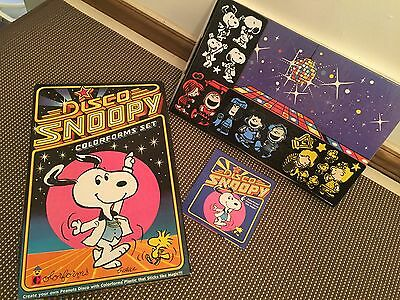 "Vintage ""DISCO SNOOPY"" Colorforms Set ~ Complete"