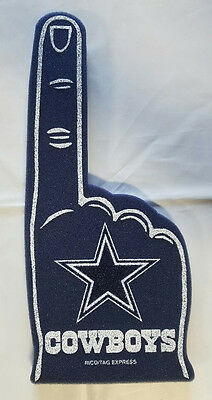 Dallas Cowboys Foam Finger #1 Fan - 18 in! Great for Game Day Party
