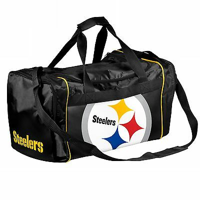 Pittsburgh Steelers Duffle Bag Gym Swimming Carry On Travel Luggage Tote NEW