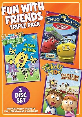 Fun with Friends Triple Pack (DVD, 2014, 3-Disc Set) NEW