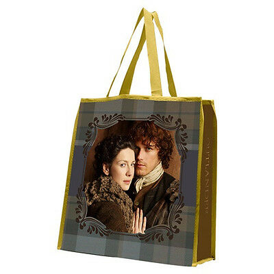 Outlander TV Series Claire and Jamie Large Recycled Shopper Tote Bag, NEW SEALED