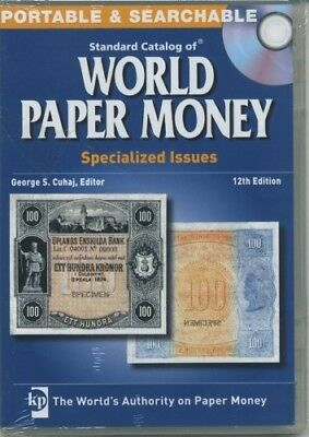 Krause Cd Standard Catalog Of World Paper Money Specialized 12Th Edition